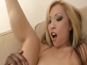 sexy Asian MILF take a Monster BBC
