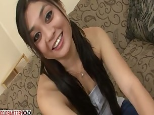 Ruby Luxe Is A Cute Little Asian That Sucks A Big Load