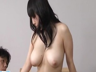Azusa Nagasawa big tits lady goes nasty on a tasty dong&nbsp_