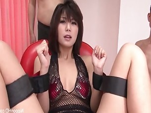 Japanese Babe Gets Worked
