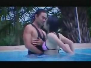 Fuck in pool