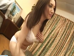 Nozomi Mashiro cock sucking girl needs to swallow