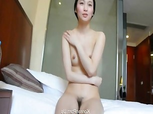 Lovely girlfriend sex video in hotel