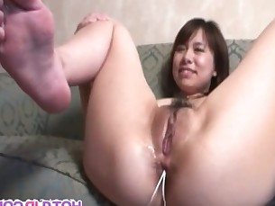 Asian Slut Likes Having All Her Holes Fucked
