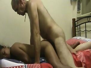 Old guy fucks shy Thai hooker while wife&#039_s away.