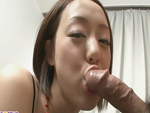 Rina Yuuki is an Asian chick that craves for man meat