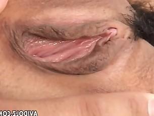 Naughty Arisa Suzuki pussy licking