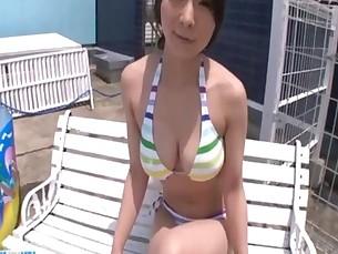 Outdoor blowjob scenes along Ayami Japan hottie