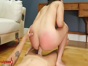 Big ass latina get hard anal drilling at Booty Camp