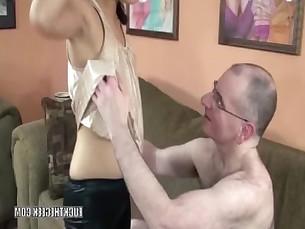 Asian hottie Lucy Levon is sucking a strangers dick