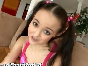 Amai Liu Babysitter Tiny Asian Teen Pussy Creampie - Tiny Tits
