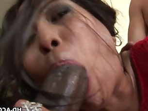 Sexy Asian Max Mikita interracial gang bang!