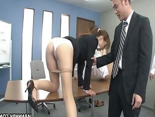 Hot Asian dick sucker pleases the dude&#039_s dicks