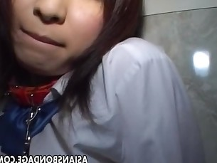 Shy Asian teen has a bdsm treatment she has to endure