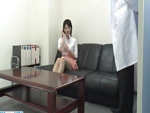 Sara Yurikawa amateur girl goes nasty on a fat dong