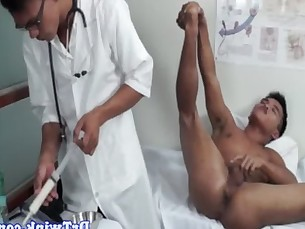 Dr twinks medical rimjob for a patient