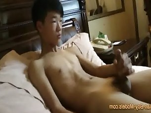 Smooth Asian Boy Jerk Off