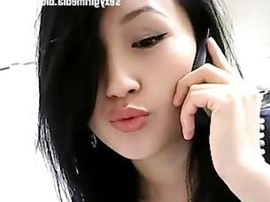 Asian sexy girl showcam nude