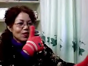 Cold Mature Chinese on Webcam